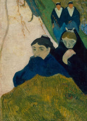 Paul Gauguin 'Arlesiennes, Mistral, Detail', France, 1888, Reproduction 200gsm A3 Vintage Classic Art Poster