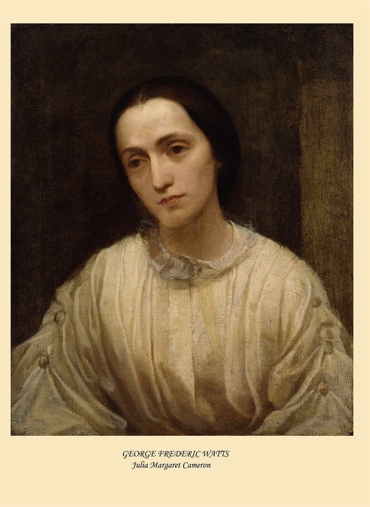 George Frederic Watts 'Julia Margaret Cameron', England, 1850, Reproduction 200gsm A3 Vintage Classic Art Poster