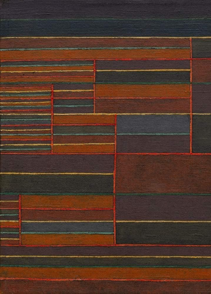 Paul Klee 'in The Current Six Thresholds, Detail', Swiss-German, 1929, Swiss-German Expressionism, Cubism, and Surrealism, Reproduction 200gsm A3 Abstract, Bauhaus Vintage Classic Art Poster