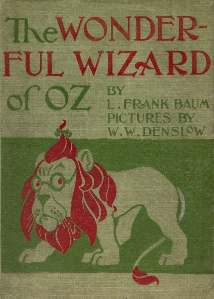 Vintage Toys, Nursery and Fairytales 'The Wizard of OZ', Reproduction 200gsm A3 Vintage Children's Poster