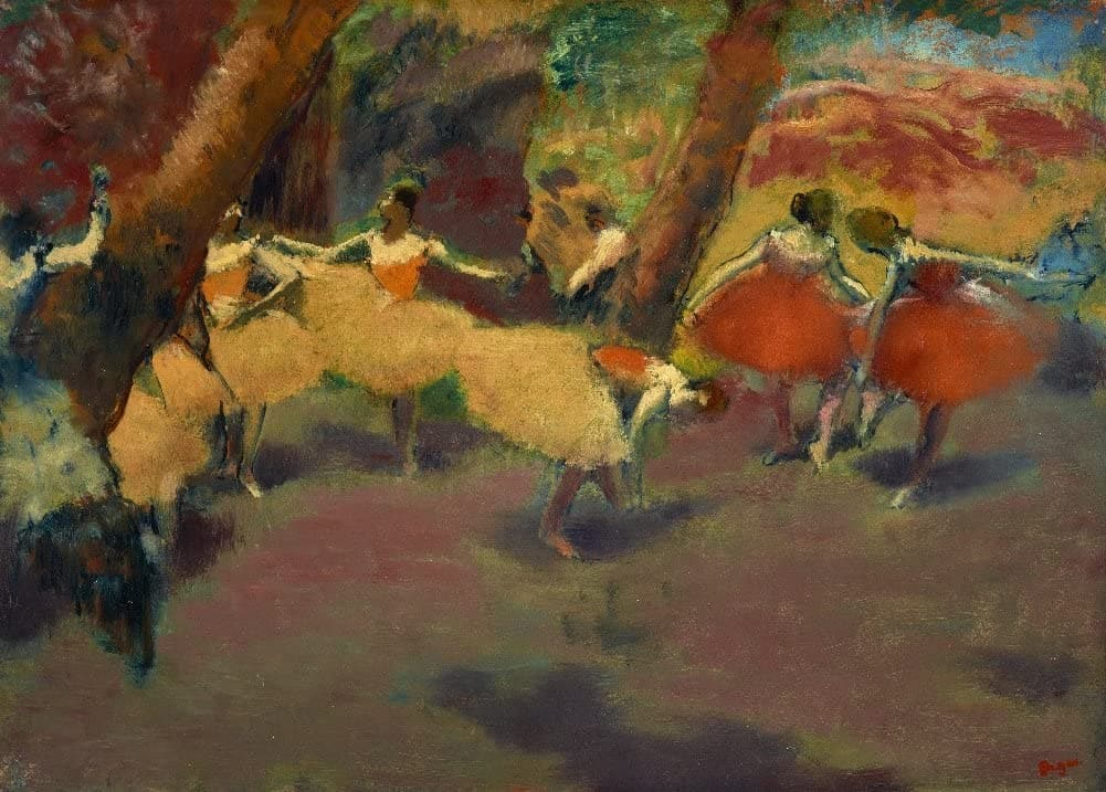 Edgar Degas 'Before The Performance', France, 1896, Impressionism, Reproduction 200gsm A3 Vintage Classic Art Poster