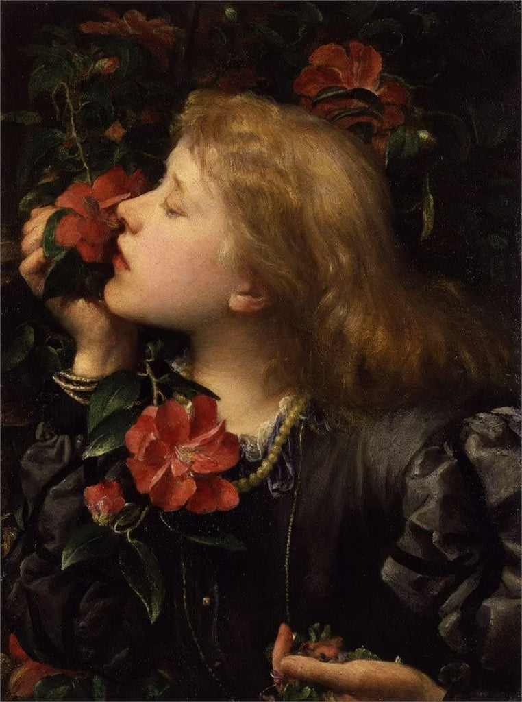 George Frederic Watts 'Dame Ellen Terry', 1864, England, Reproduction 200gsm A3 Vintage Classic Art Poster