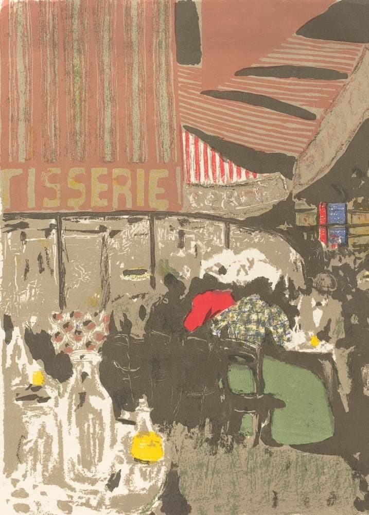 Edouard Vuillard 'The Bakery, Detail', France, 1899, Impressionism, Reproduction 200gsm A3 Vintage Classic Art Poster