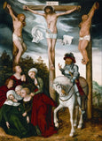 Lucas Cranach The Elder 'Crucifixion of Christ', 1500's, Germany, Reproduction 200gsm A3 Vintage Classic Art Poster