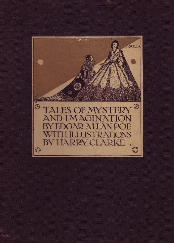 Harry Clarke 'Edgar Allan Poe's Tales of Mystery and Imagination', 1919, Ireland, Reproduction 200gsm A3 Vintage Classic Art Poster