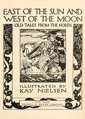 Kay Nielsen 'East of The Sun and West of The Moon, Reproduction 200gsm A3 Vintage Classic Art Nouveau Poster