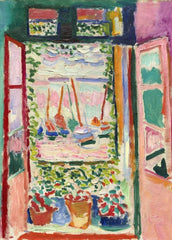 Henri Matisse 'Open Window, Collioure', France, 1905, Reproduction Vintage 200gsm A3 Classic Poster