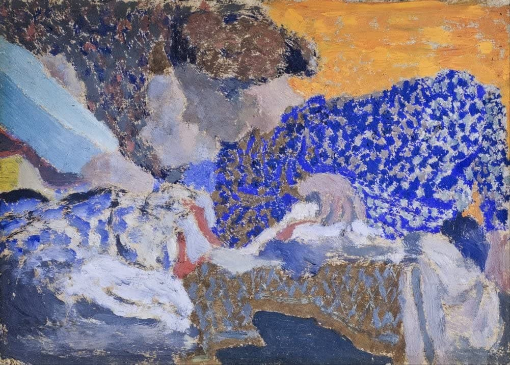 Edouard Vuillard 'Two Seamstresses in The Workroom', France, 1893, Impressionism, Reproduction 200gsm A3 Vintage Classic Art Poster