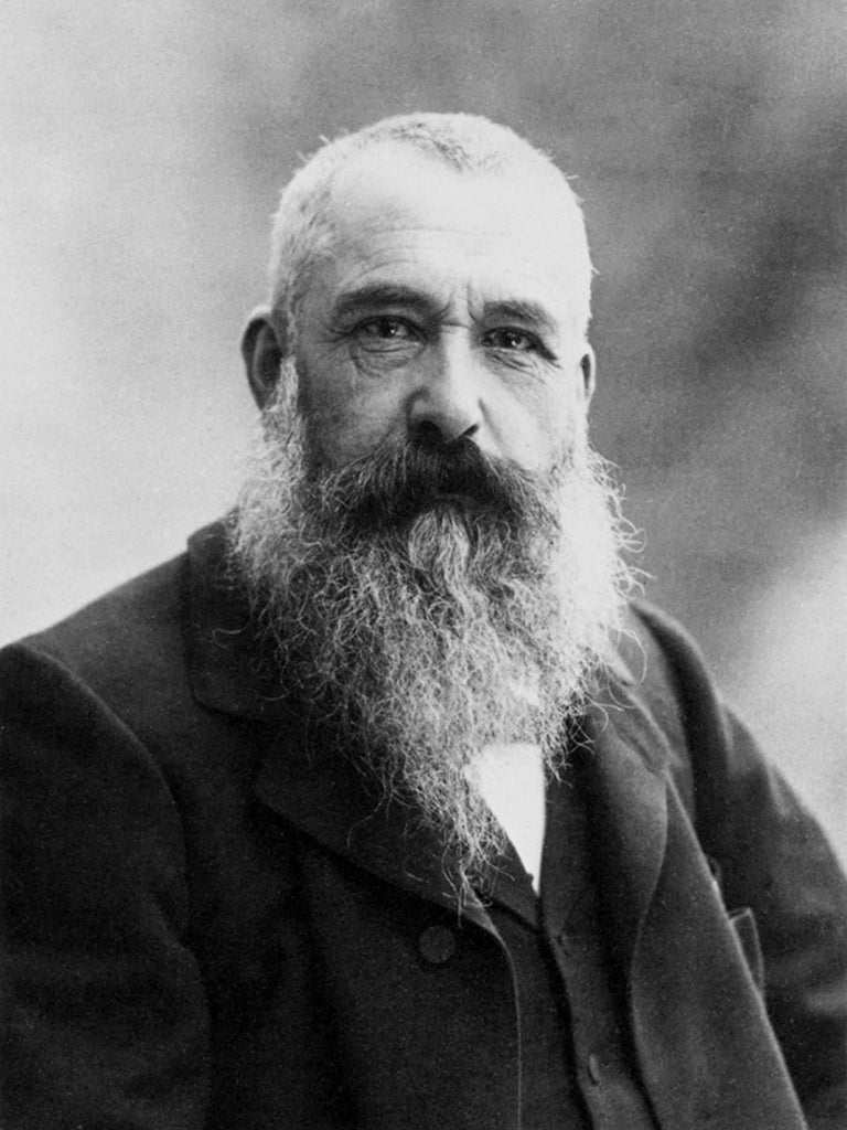 Claude Monet 'A Photograph of The Artist, Reproduction Vintage 200gsm A3 Classic Poster