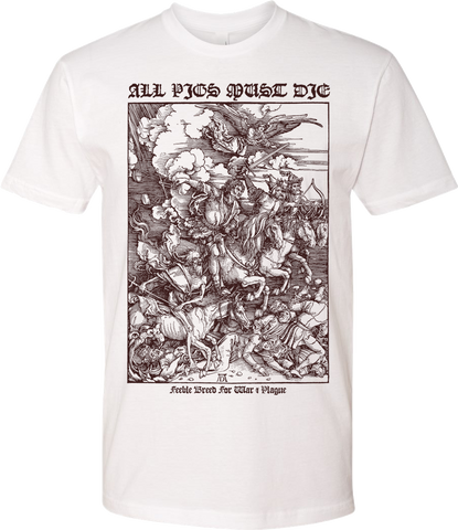 ALL PIGS MUST DIE Feeble Breed Shirt - NEW