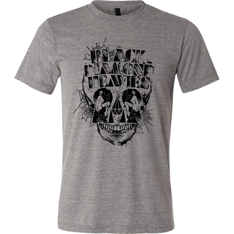 BLACK DIAMOND HEAVIES Skull Shirt - MEGA SALE