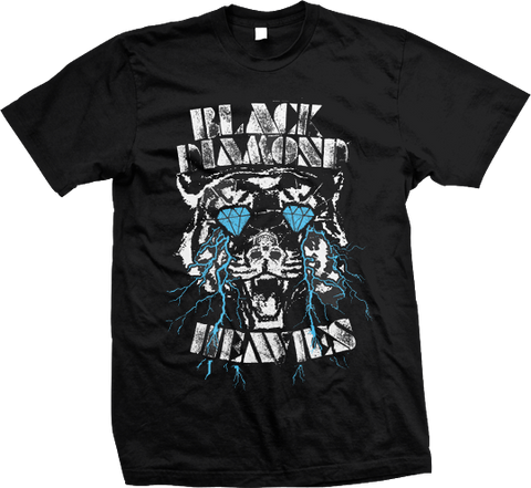 BLACK DIAMOND HEAVIES Tiger Shirt