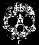 CAT MAGIC PUNKS: Cat In The Brain Shirt