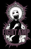 FIGHT AMPUTATION Purple Zombie Shirt