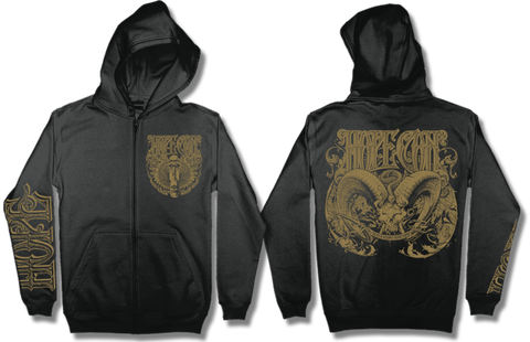 HOPE CONSPIRACY Death Knows Zipper Hoodie - MEGA SALE