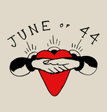 JUNE OF 44 Heart Shirt - NEW - SHIPPING NOW