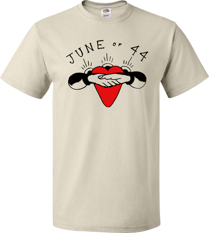 JUNE OF 44 Heart Shirt