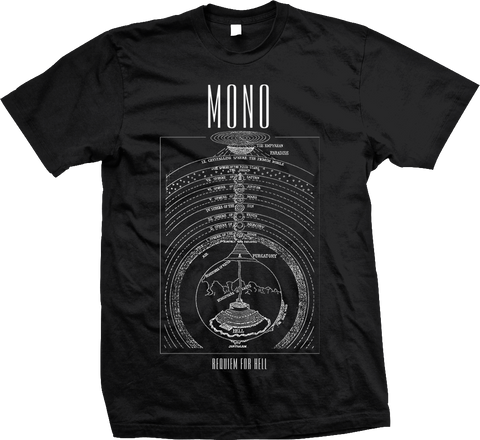 MONO Inferno Diagram Shirt - NEW - SALE!