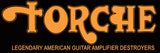 TORCHE Orange Shirt