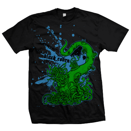 BLACK COBRA Tentacles Shirt