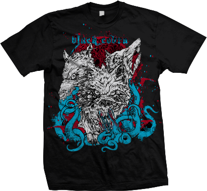 BLACK COBRA Wolves Shirt