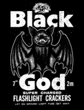 BLACK GOD Black Bat Shirt