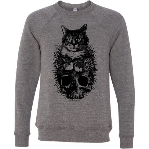 CAT MAGIC PUNKS Feline Forever Sweatshirt - NEW