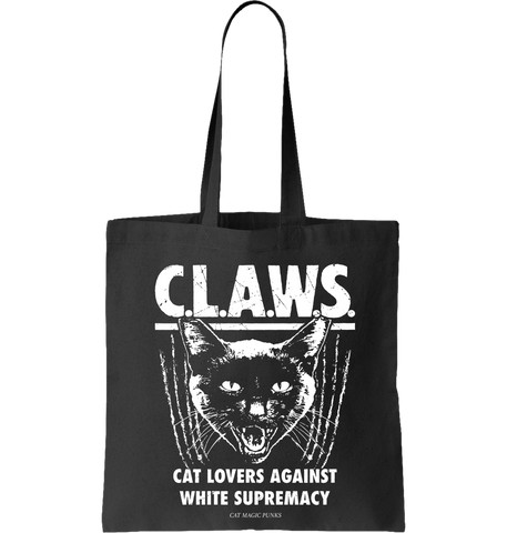 CAT MAGIC PUNKS: C.L.A.W.S. Tote Bag - NEW