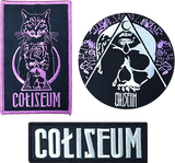 COLISEUM Embroidered Patches