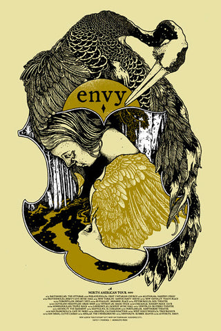 ENVY Crane Screen Printed Poster