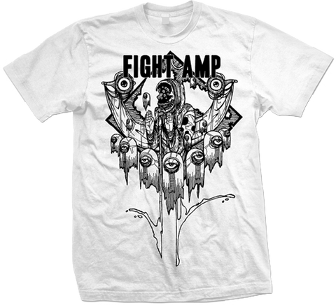 FIGHT AMPUTATION Dead Eyes Shirt - MEGA SALE