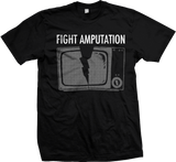 FIGHT AMPUTATION Classic TV Logo Shirt