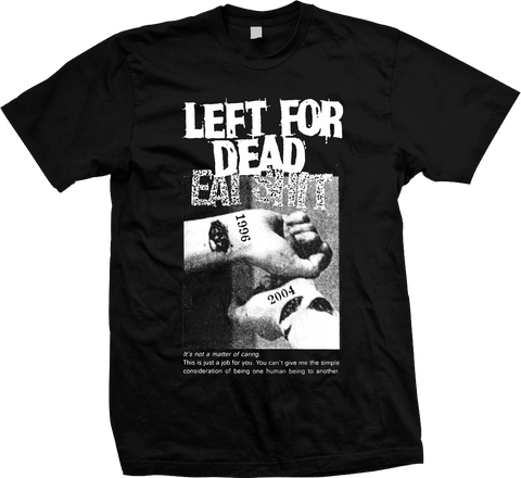 LEFT FOR DEAD Slit Wrists Shirt