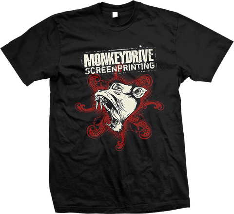 MONKEY DRIVE / ANGRY BLUE Beast Shirt