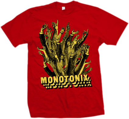 MONOTONIX Hands Shirt - MEGA SALE