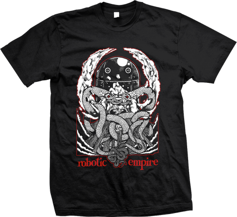 ROBOTIC EMPIRE Weed Snakes Shirt