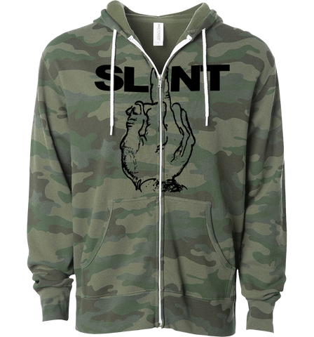 SLINT Finger Camouflage Zipper Hoodie - NEW - PREORDER