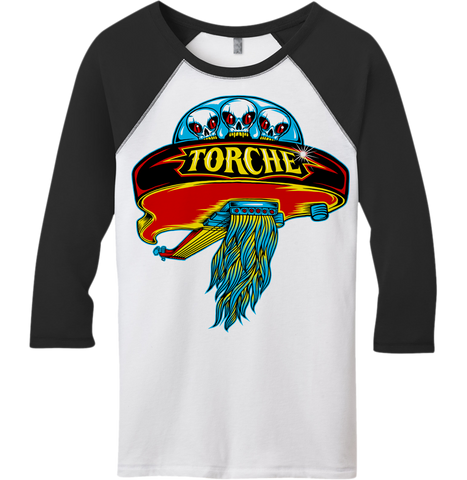 TORCHE Boston 3/4 Sleeve Raglan Shirt