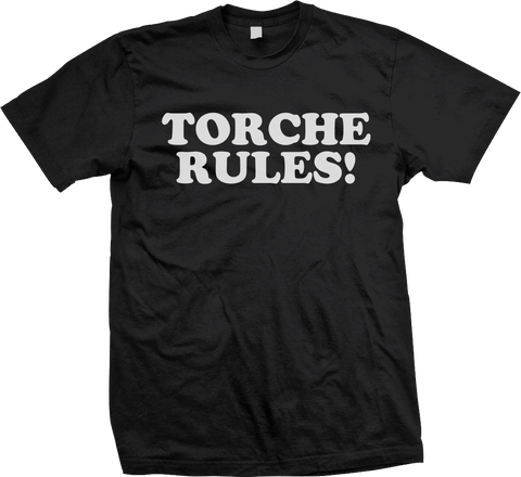 TORCHE Rules Shirt - MEGA SALE