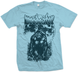 WEEDEATER Moon Ape Blue Shirt