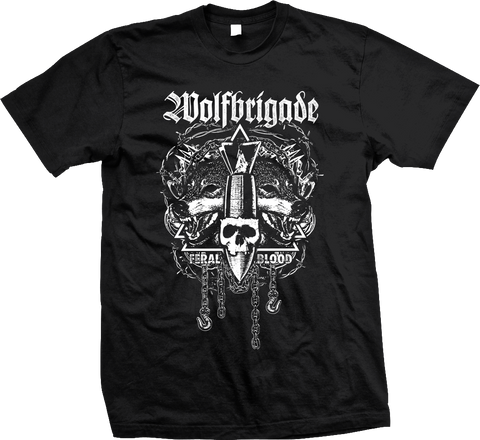 WOLFBRIGADE Feral Blood Shirt - NEW - SHIPPING NOW