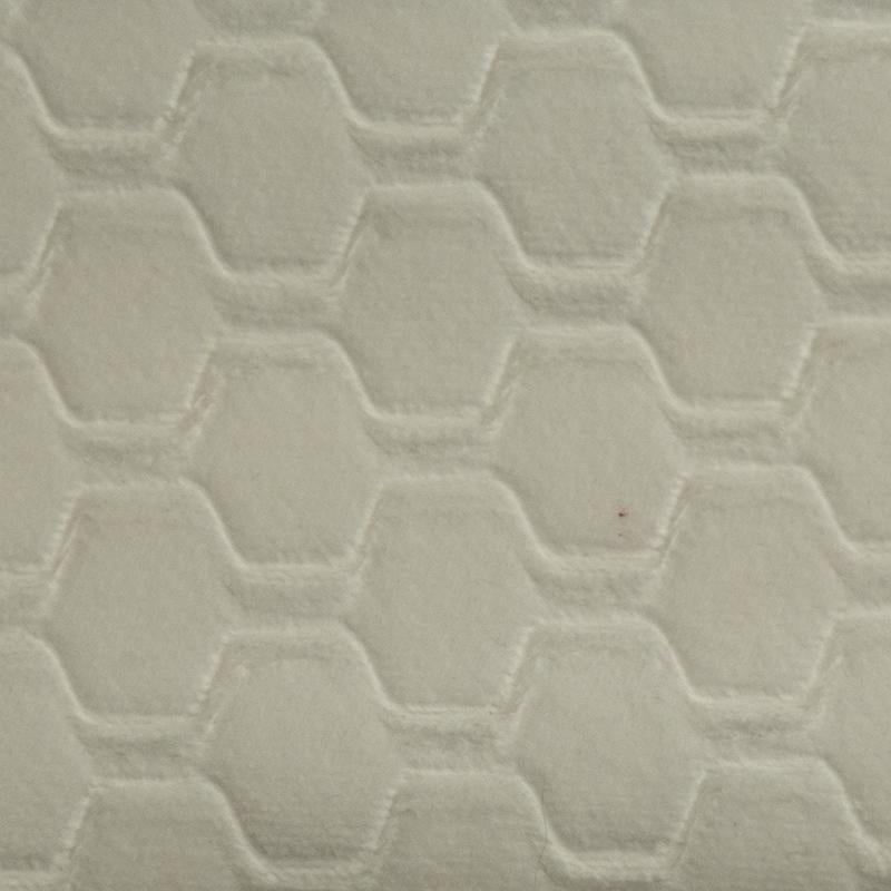 Carver Embossed Natural White