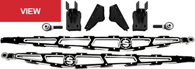 "F450 4.5"" IDENTITY SERIES LONG BED LADDER/TRACTION BARS FOR 2017-2021 FORD F450 SUPER DUTY"