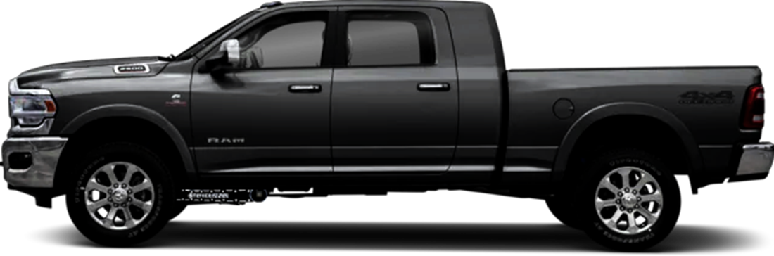 Dodge RAM 2500 3500 Stryker Radius ARM Identity Badging Black