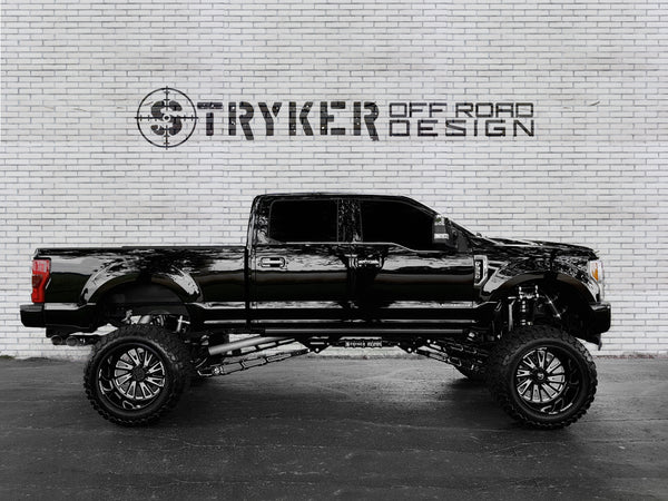 Stryker Off Road Design Ford Super Duty Ladder Traction Bars