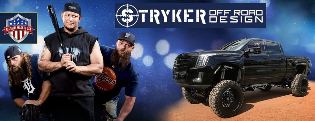 Diesel Brothers 2016 Cadillac Escalade Stryker Lift Build