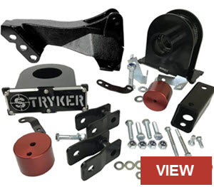 F250 F350 Leveling Kit with Track Relocation Bracket