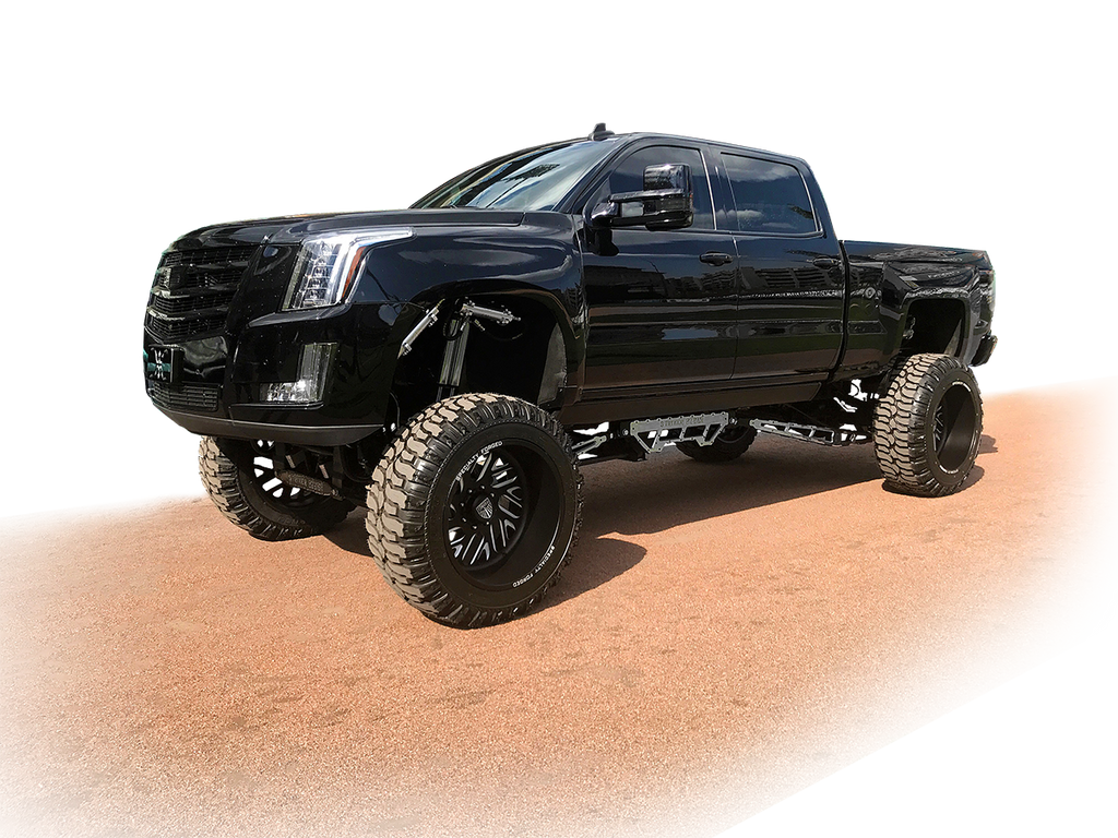 2016 Chevy HD with a Duramax diesel