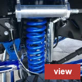 F250 F350 Reservoir Coil Over Shocks for 2017 to 2021