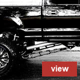 F250 F350 Ladder Traction Bars for 2011 to 2016